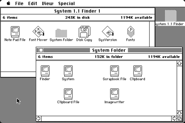 system 1 MAC