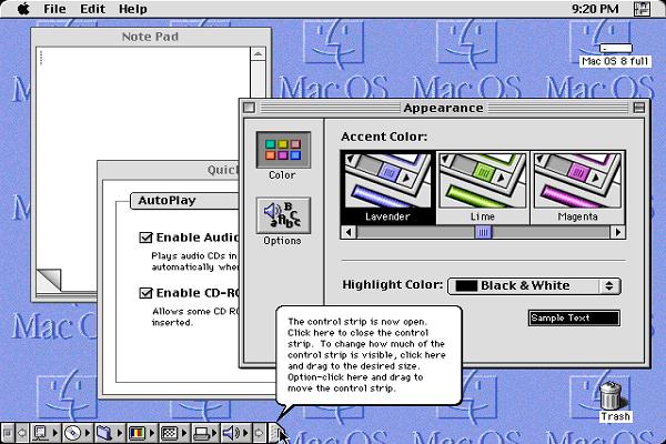 system 8 MAC