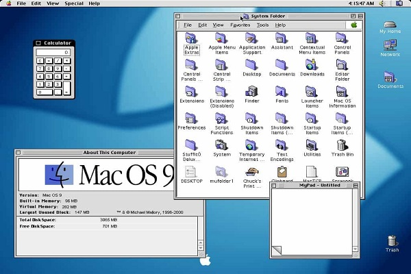 system 9 MAC