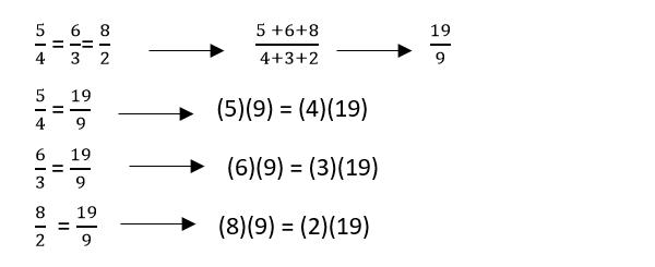 Ejemplo 1 y 2 de proporcionalidad