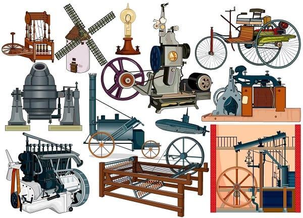 Inventos de la Revolución Industrial