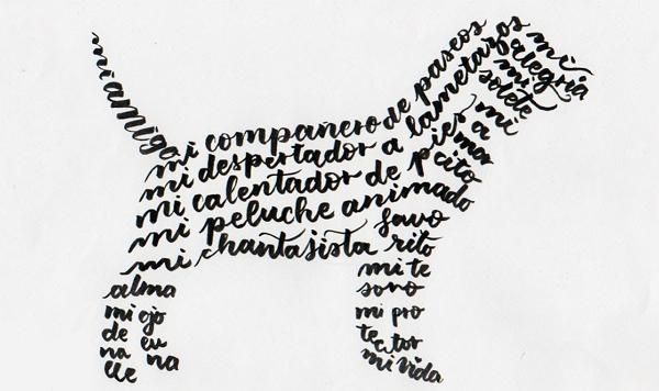 Poema. Tipos y ejemplos. Caligrama