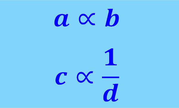 Proporcionalidad. Magnitudes inversa y directamente proporcionales