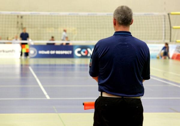 Arbitros del vóleibol