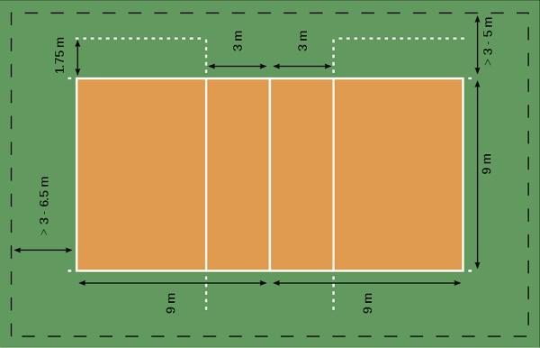 Cancha de vóleibol