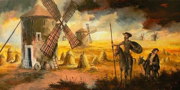 Don Quijote de la mancha. Literatura renacentista