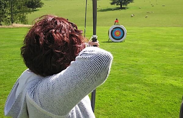 Ejemplo de tiro con arco como deporte individual