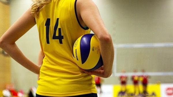 Jugadores de vóleibol