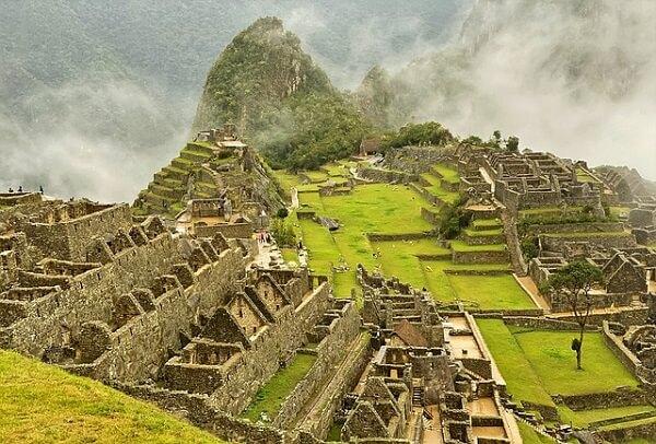 Machupicchu ciudadela de los Incas ejemplo de sociedad agrícola