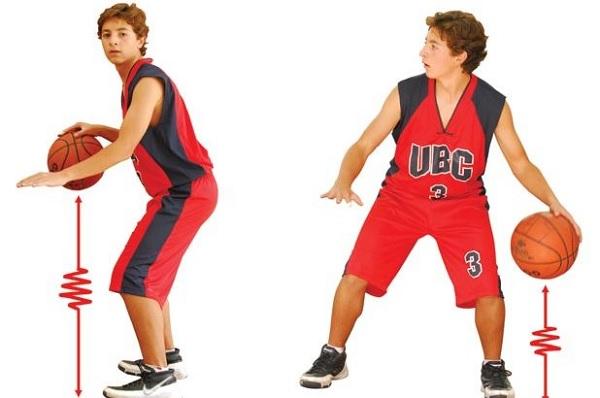 Bote y drible en baloncesto